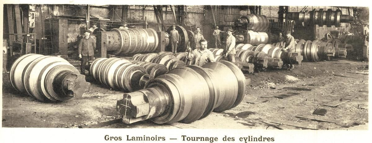 SMK atelier des cylindres de laminoirs Algrange