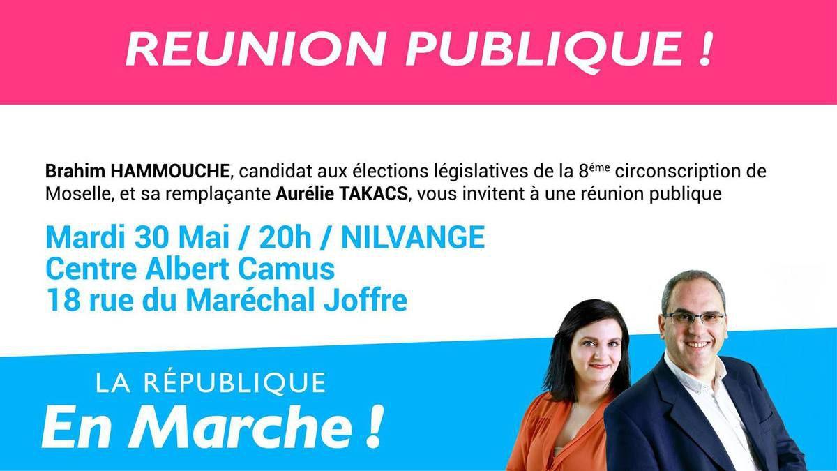 législatives Thionville ouest 8 éme circonscription MaJ 14 06 2017