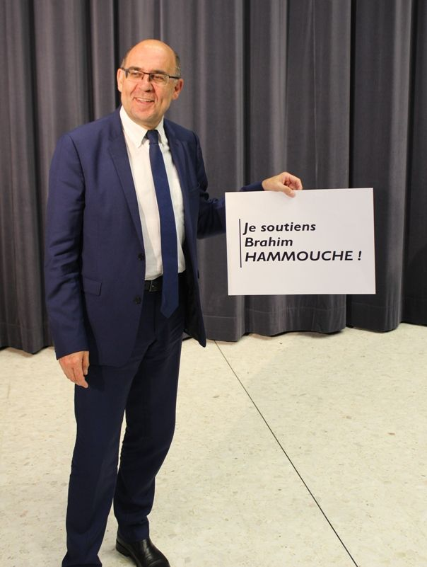 Hammouche Brahim meeting En Marche Uckange legislatives 2017