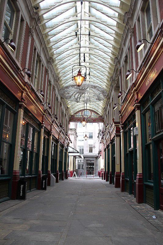Sur les traces d'Harry Potter à Londres...