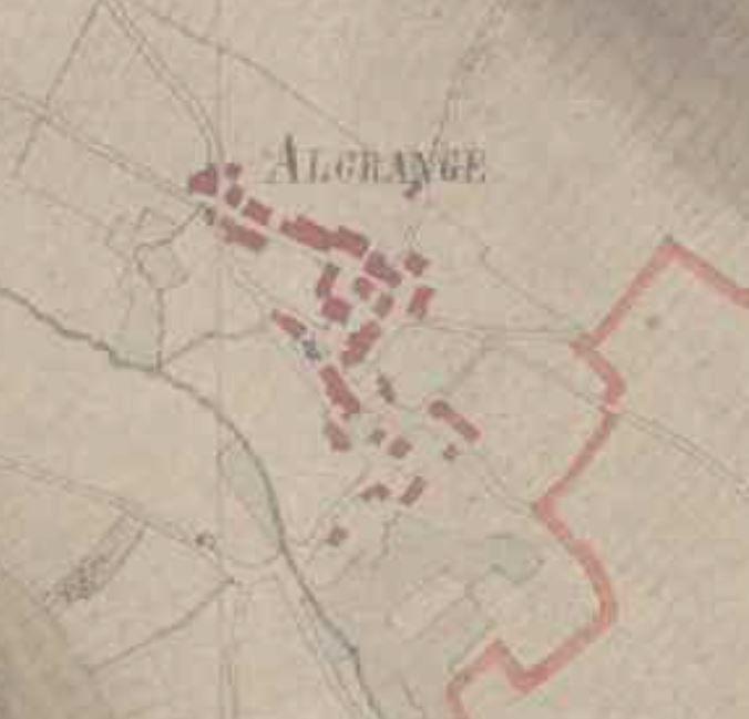 Algrange en 1840