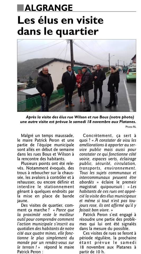 Elections Municipales 2020 Algrange