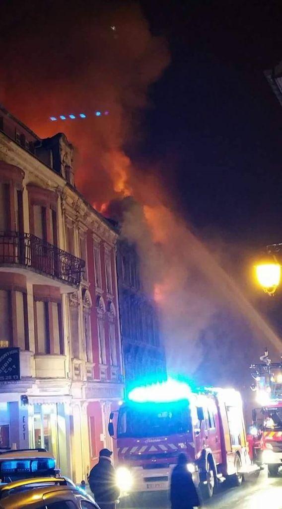 Incendie rue Clemenceau Algrange