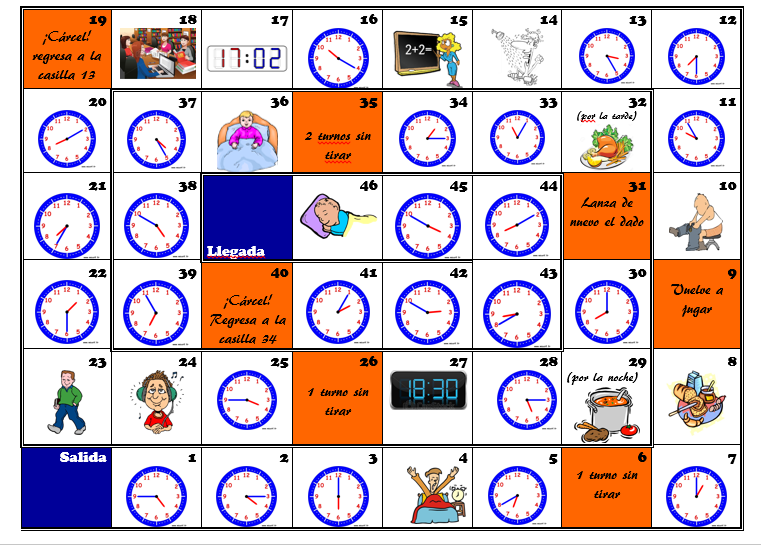 1000 Images About La Hora On Pinterest Telling Time
