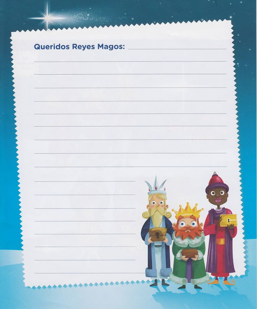 Carta a los Reyes Magos (verso)
