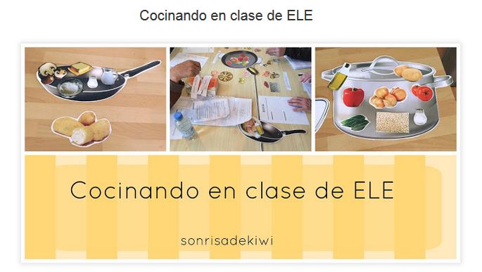 Cocinando en clase