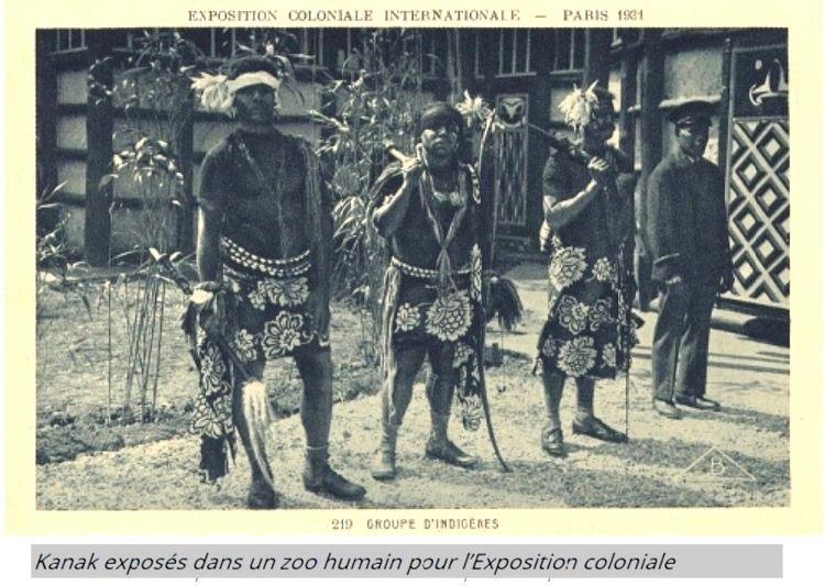 Kanak à l'Exposition coloniale de 1931