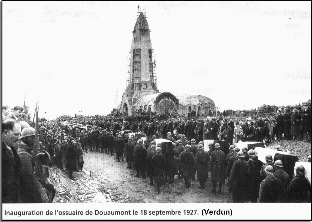 Commémorations de la 1ère Guerre : 2014 : des « phares de la mémoire » à « l'Anneau de la Mémoire » (1)