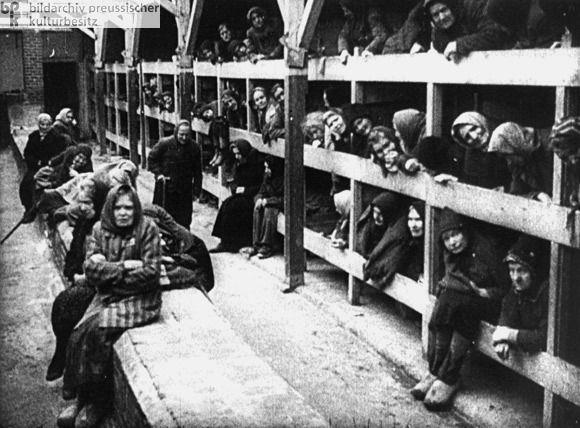 Baraquements de femmes - reconstitution soviétique -