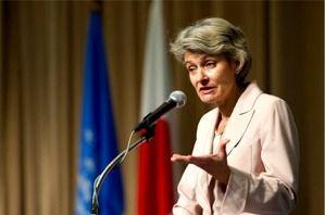 Irina Bokova,  directrice générale de l'Unesco