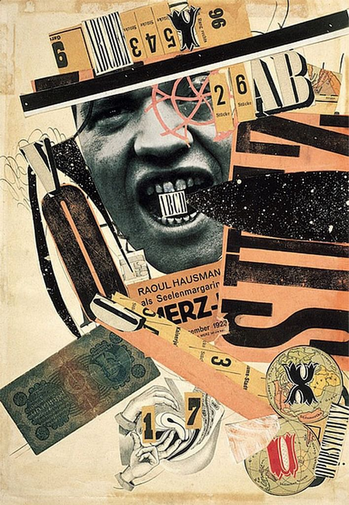 Raoul Hausmann - Collage