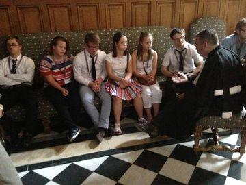 7 septembre 2016 : 7 personnes trisomiques au Conseil d'Etat (Co) F.C. photo Antoine Pasquier