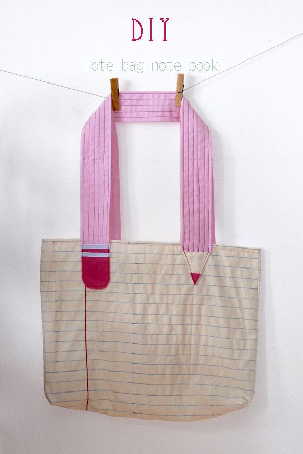 DIY un sac fourre-tout