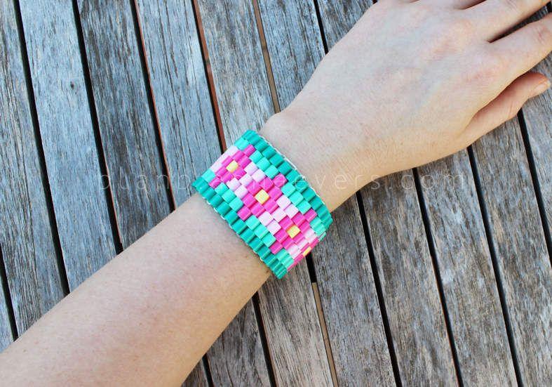 DIY un bracelet en perles hama