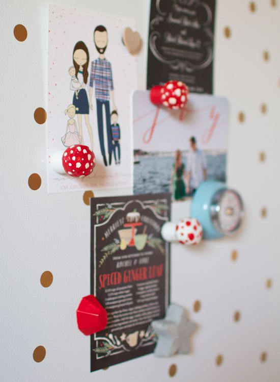 DIY de magnets champignon.