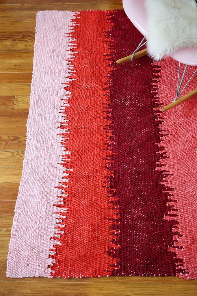 DIY un tapis à tisser soi même
