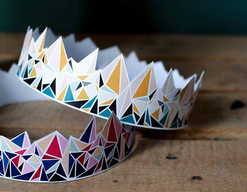 DIY une couronne pour la galette des rois