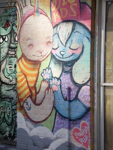 Canada - Montéral - les peintures murales - 7