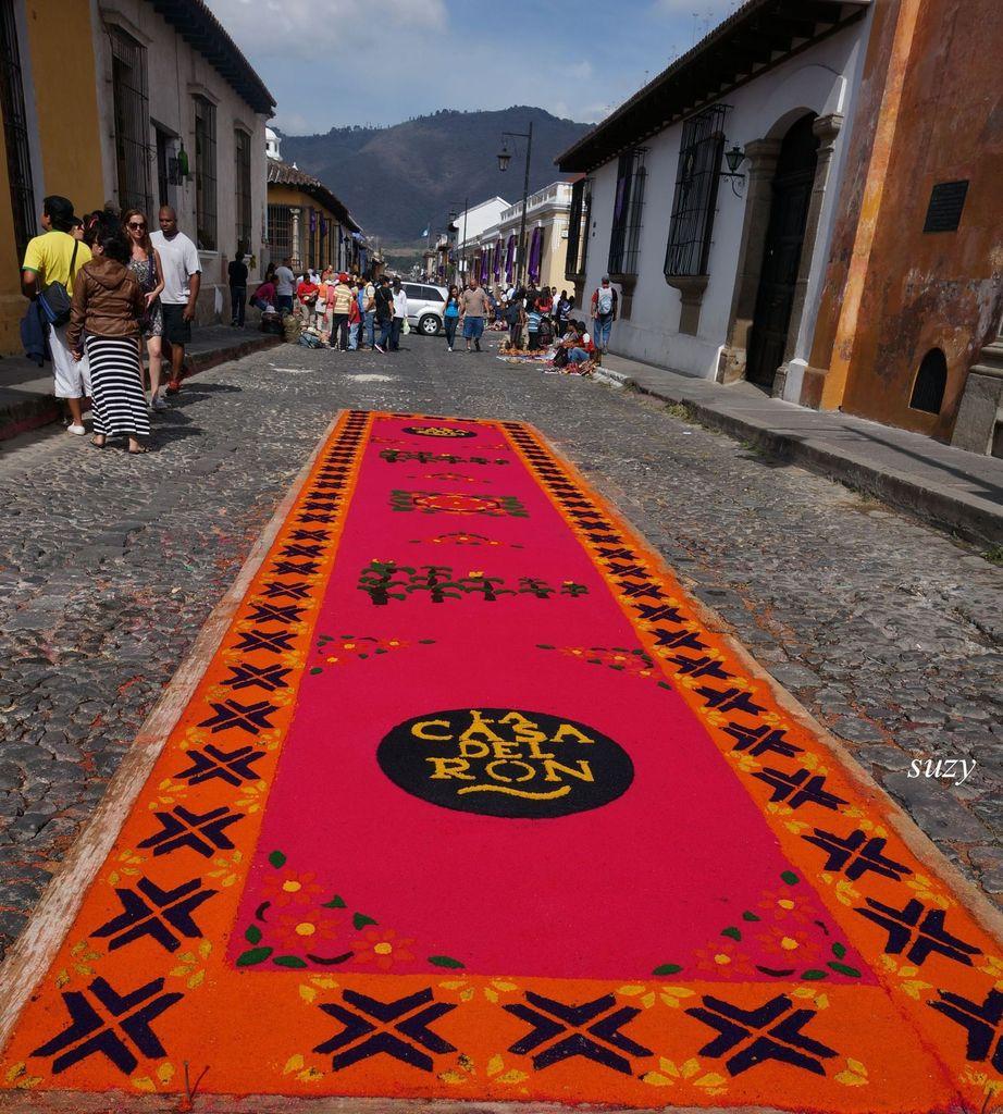Le Guatémala - Pâques à Antigua