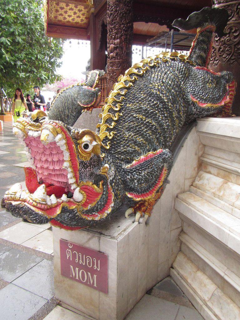 La Thaïlande - quelques monuments - 1