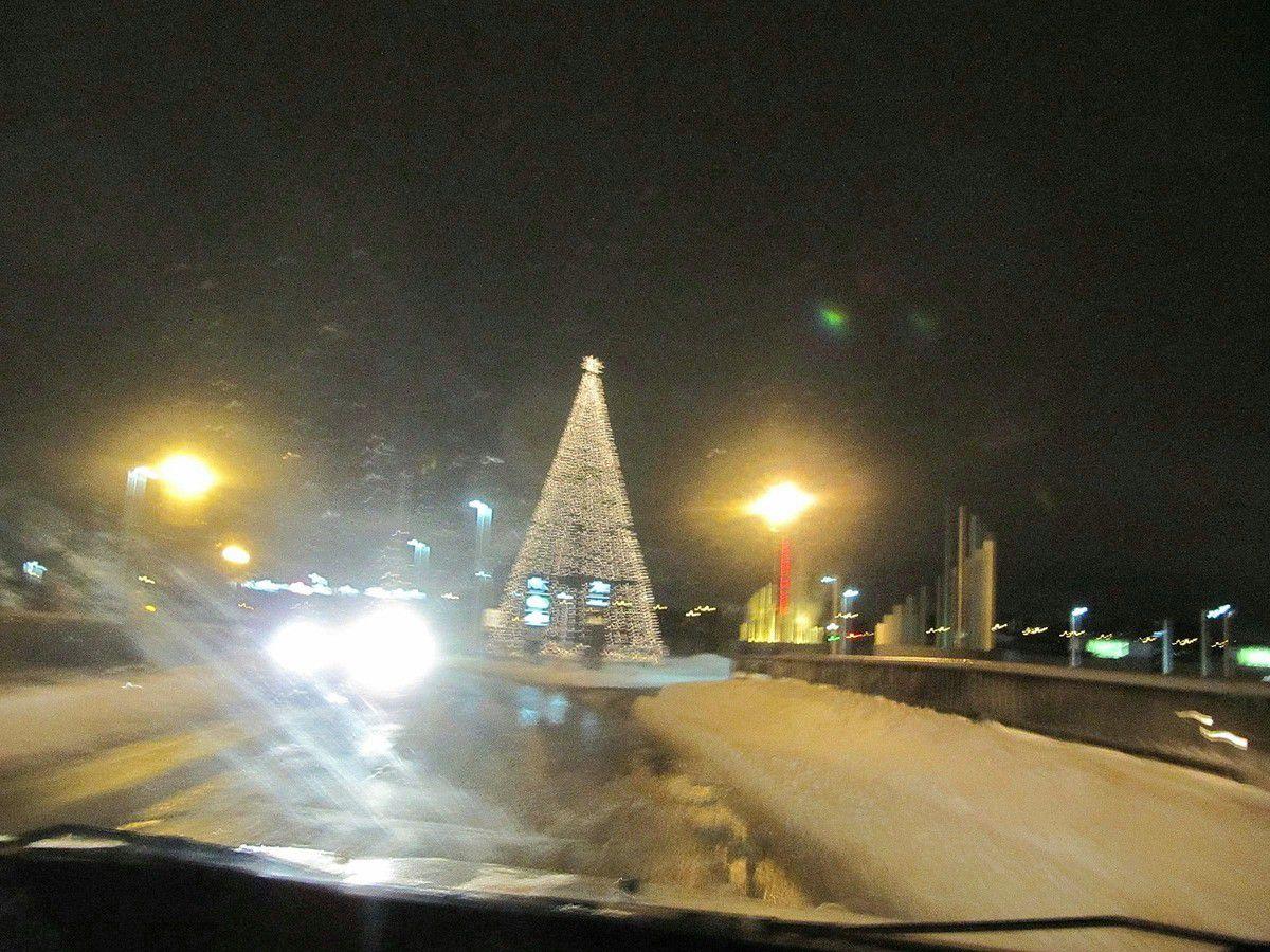 Canada - un soir de neige