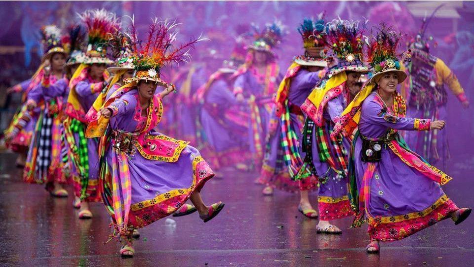 Divers - carnaval en Bolivie - 1