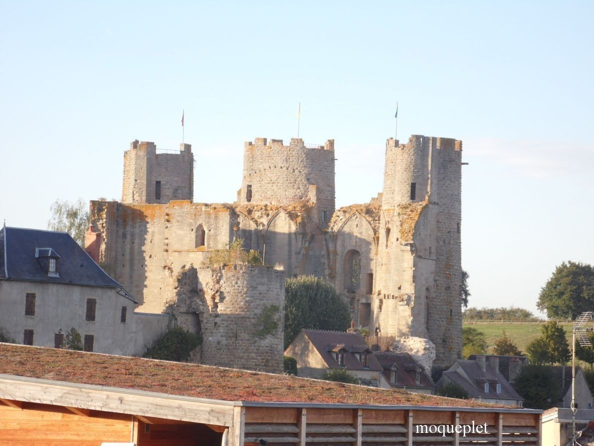 La France - Le château de Bourbon-l'Archambault