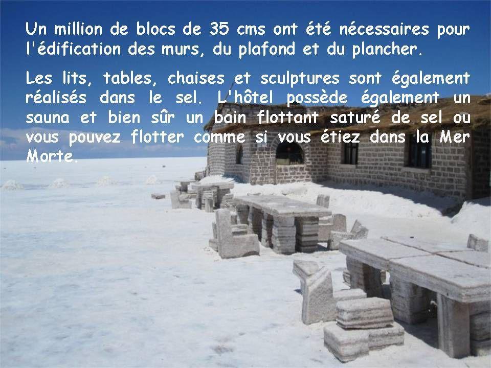 Pays étranger - Le sel en Bolivie