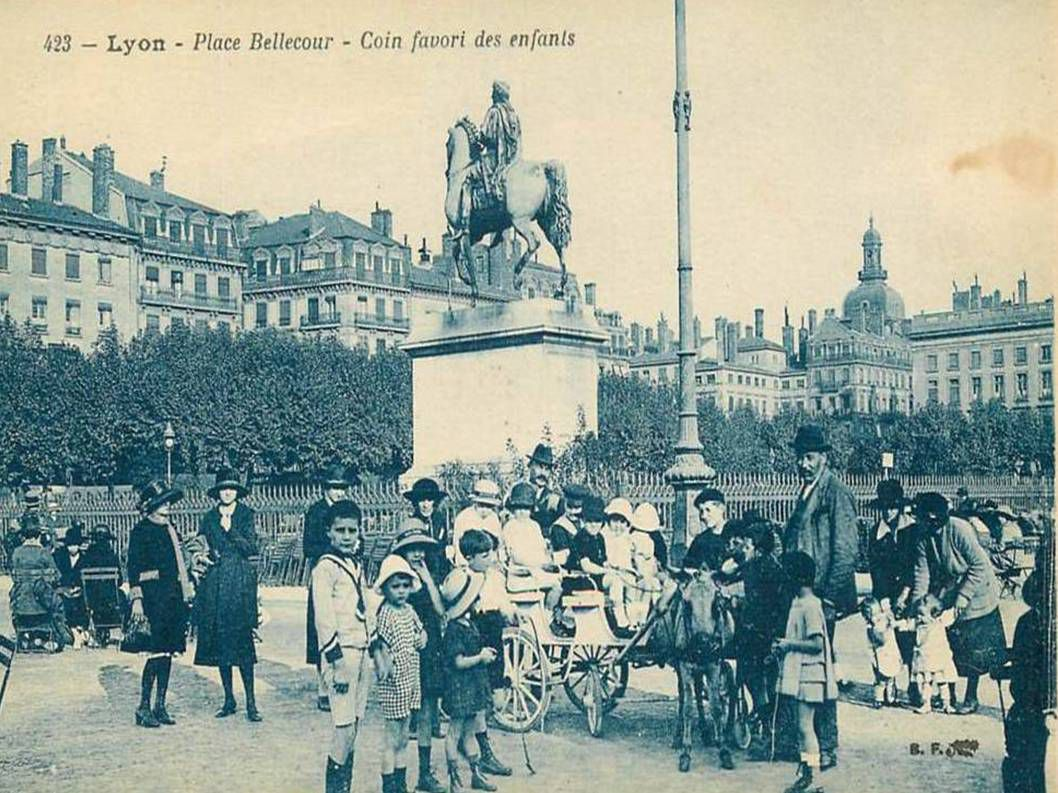 La France - Anciennes photos de Lyon - 3