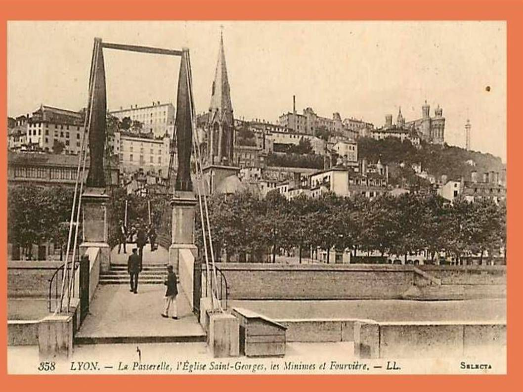 La France - Anciennes photos de Lyon - 1