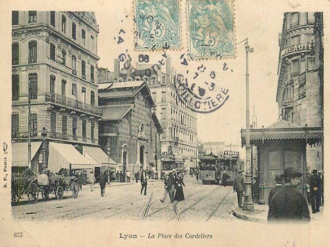La France - Anciennes photos de Lyon - 2