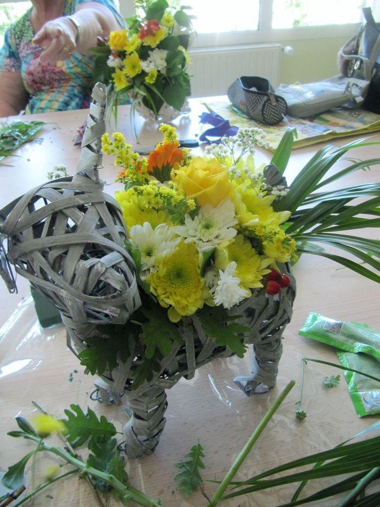 Mes ourvages - Essai à l'Art Floral