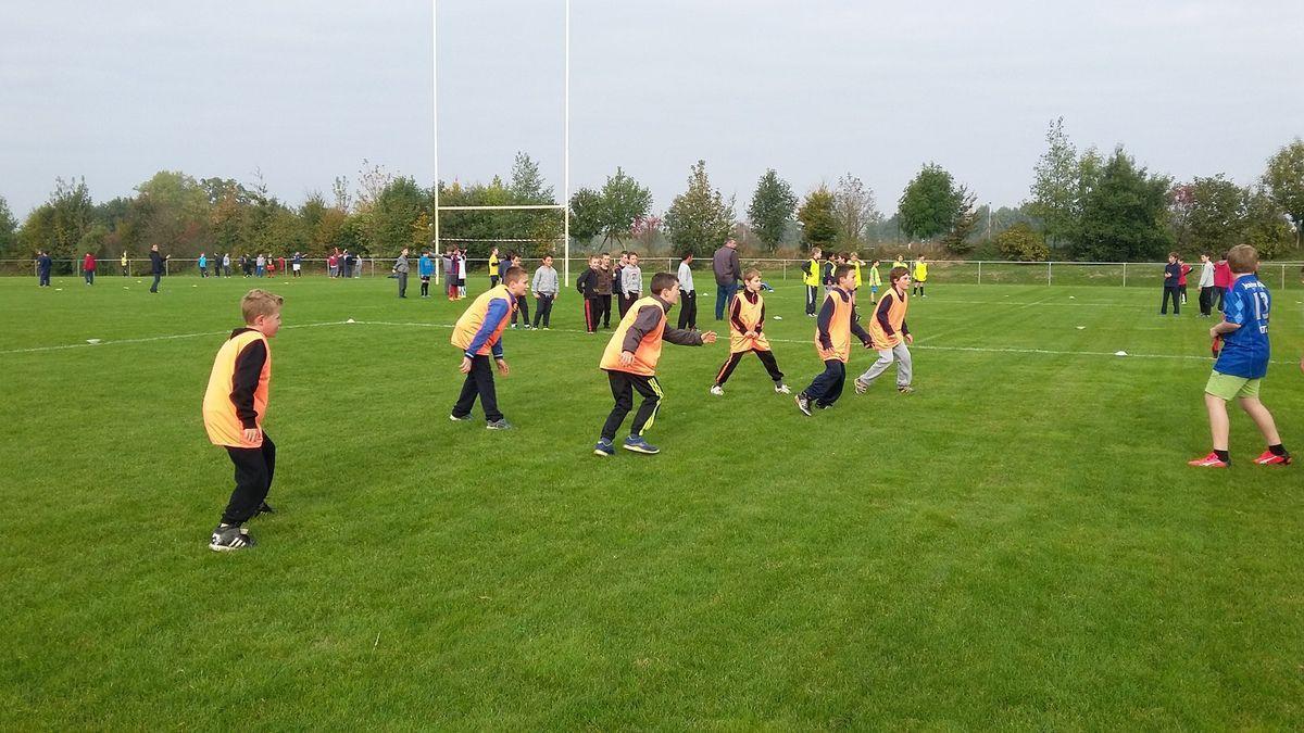 Rencontre rugby CM-6ème