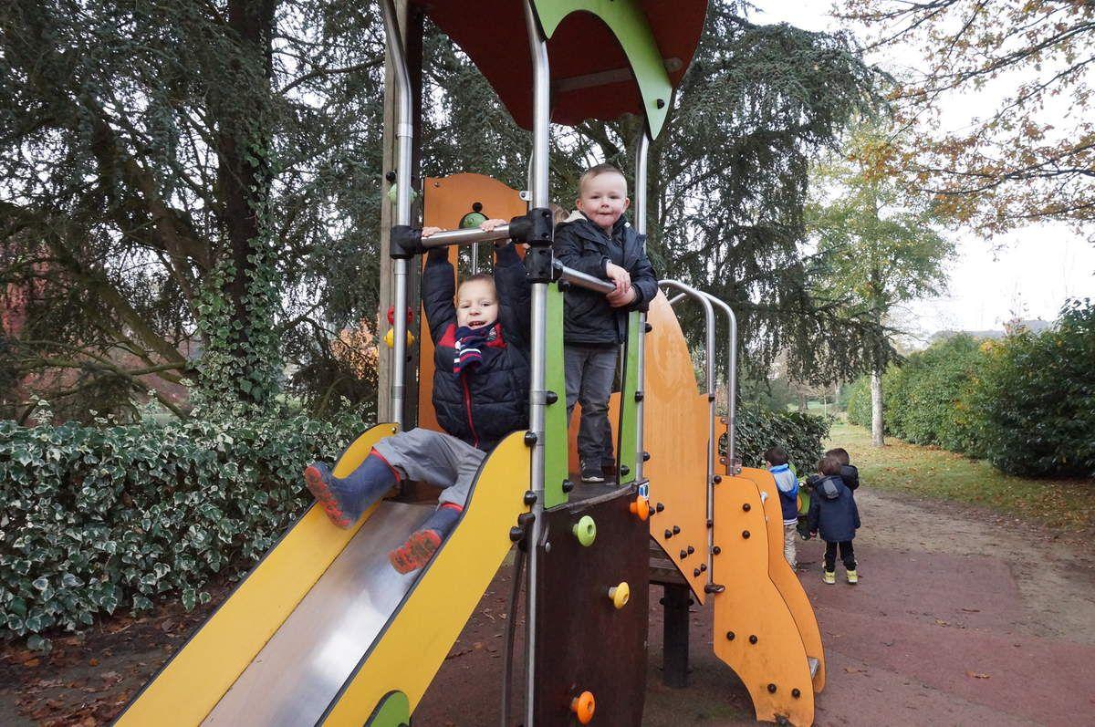 Suite Photos de la Sortie des PS-MS au parc de Vitré