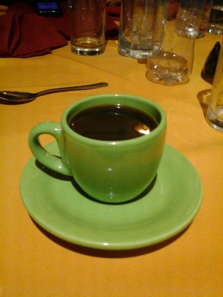 Café vanille chocolat