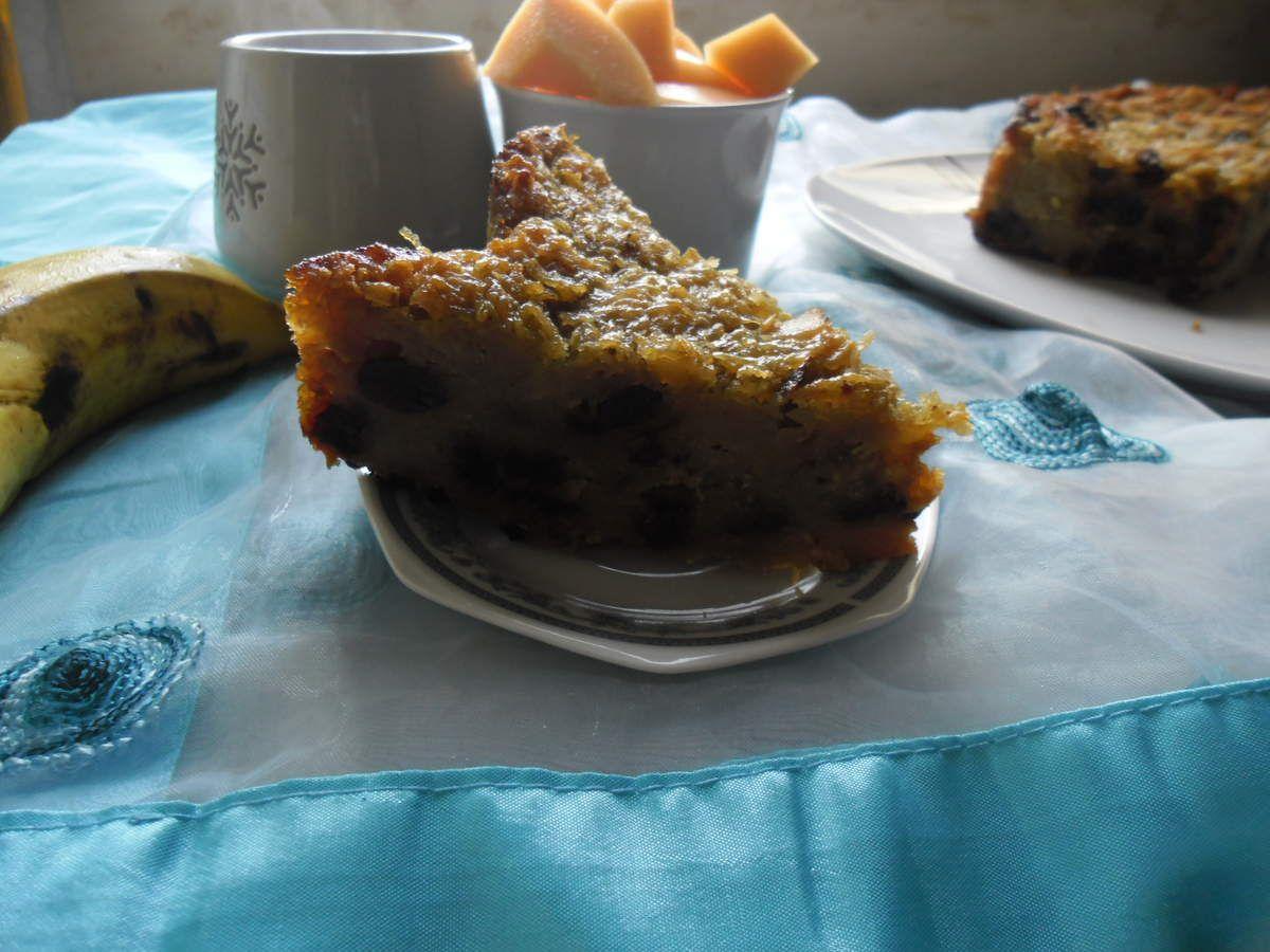 Pan de batata (gâteau à la patate douce)