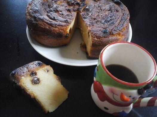 Gâteau à  la farine de maïs (arepa de maiz)