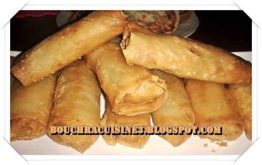 بريوات الدجاج بصلصة البيشاميل - مليكة من كازا