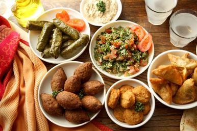 Défi : Le restaurant libanais