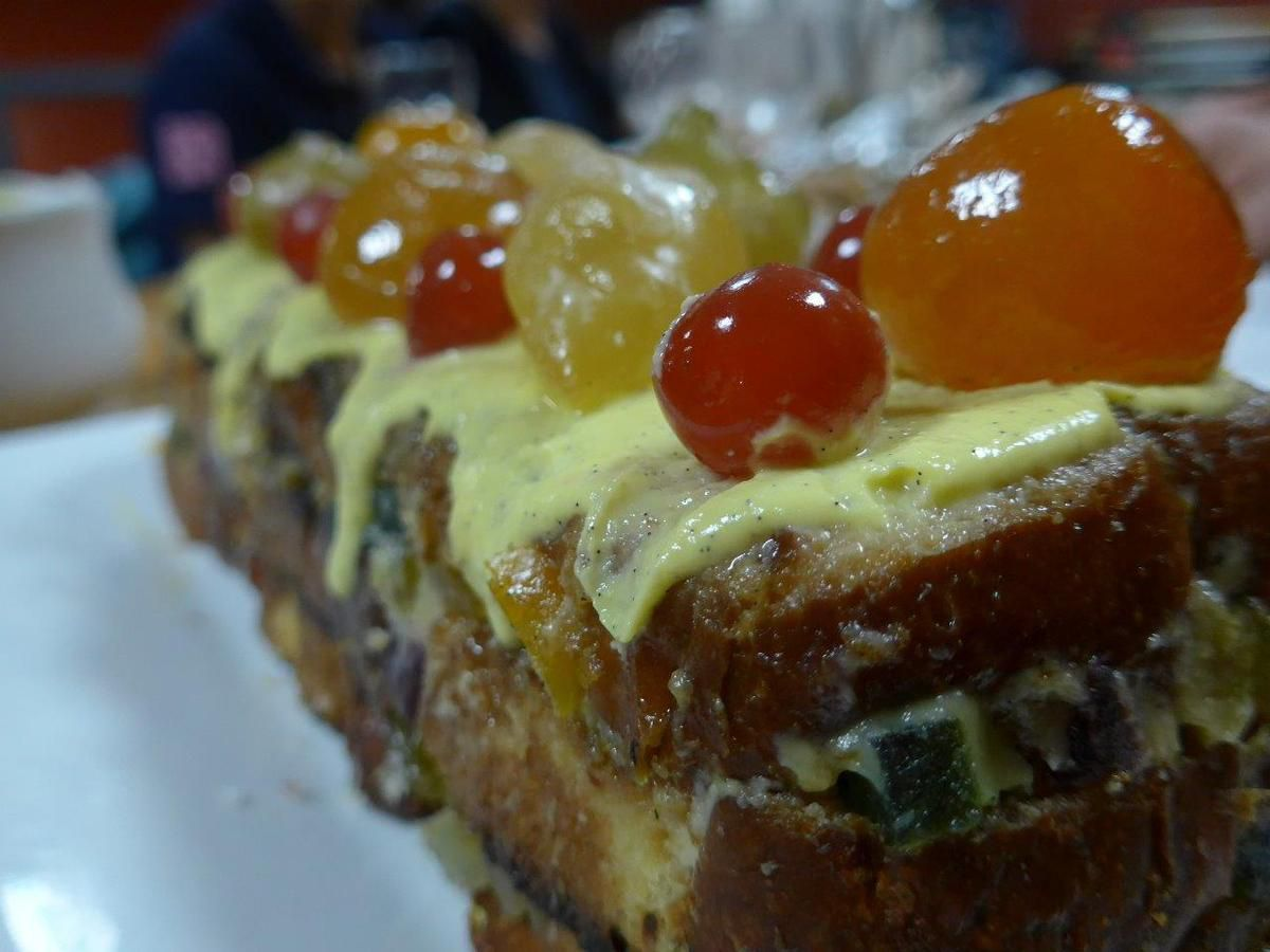 Gateau diplomate aux fruits