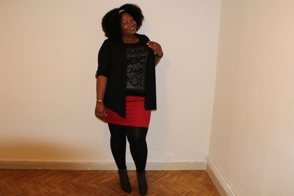 En noir et rouge N°3