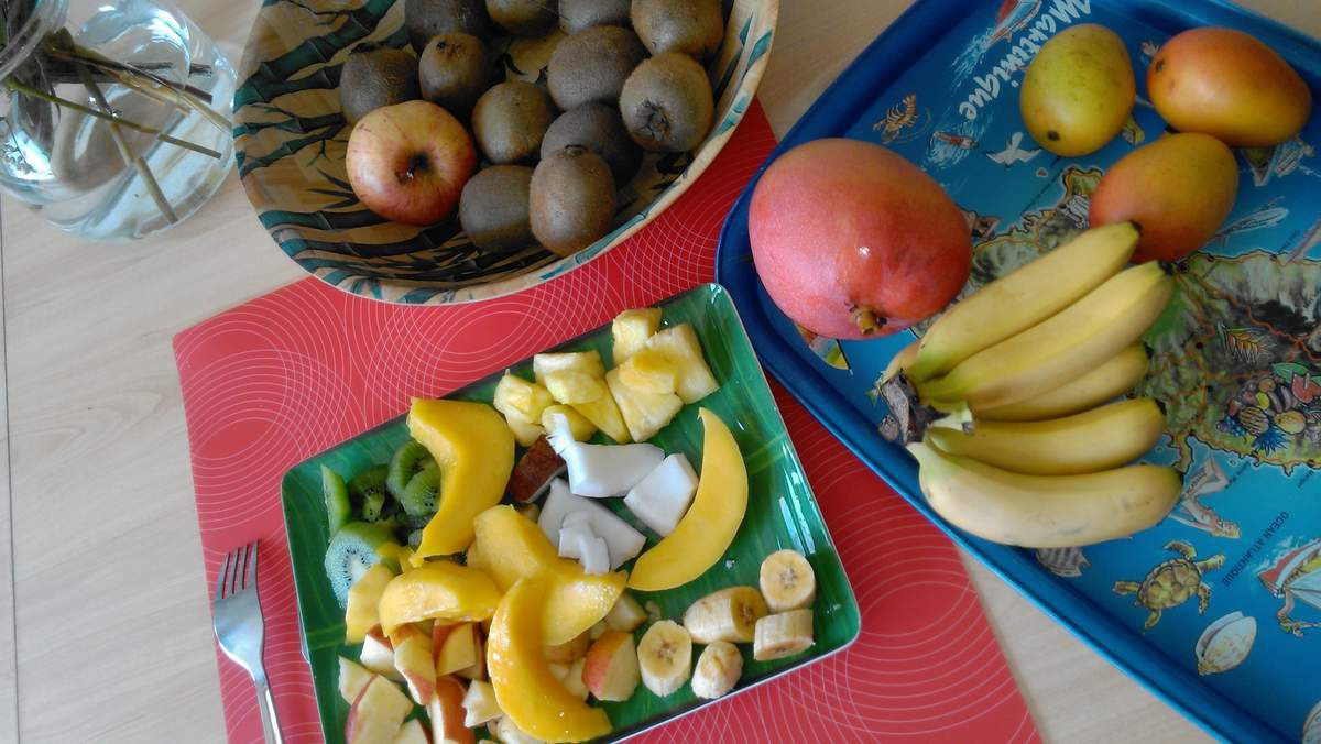 Petit-déjeuner 100% fruité