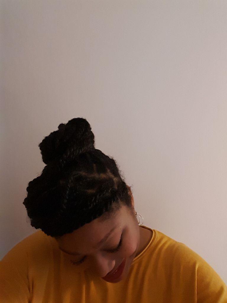 4 coiffures à partir de vanilles/twist