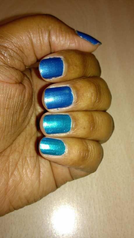 Duo Bleu ciel/océan