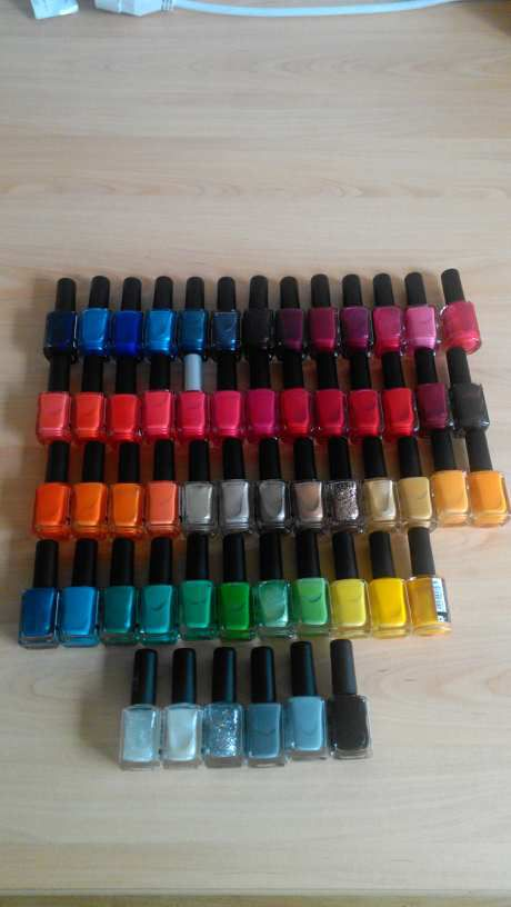 Ma collection de vernis à ongles KIKO