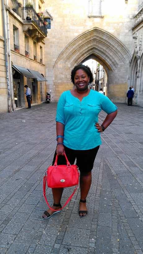 Une touriste à BORDEAUX