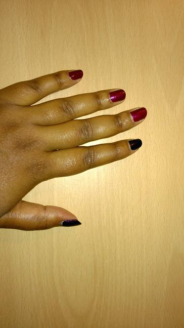 Nuances de violet
