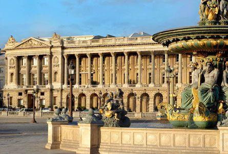 Hôtels littéraires : Paris, Hôtel de Crillon