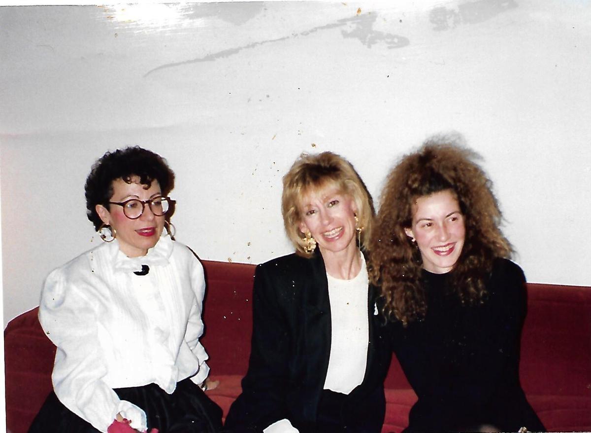 Lily en Ralph Lauren avec Chouket Weglein et Caroline V. Johnson