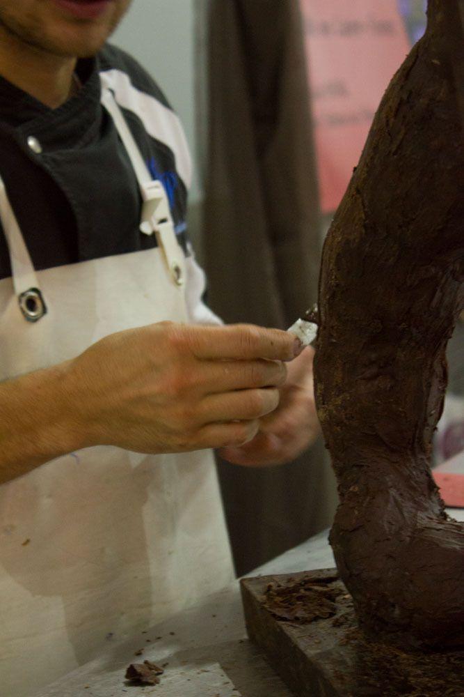 """Salon """"C'est tout chocolat""""  2014 à Saint Just Saint Rambert (Loire"""